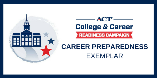 Badge for ACT College Readiness