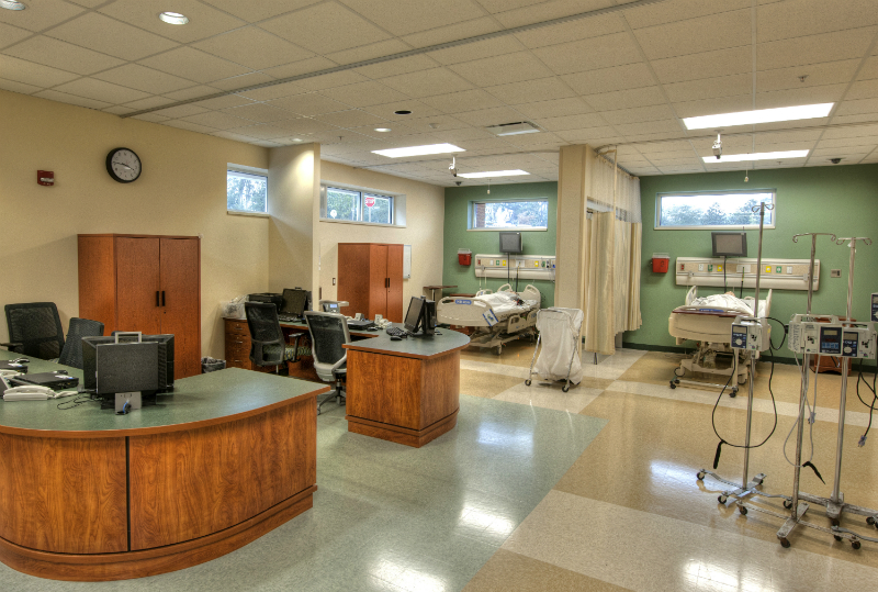 The Ghazvini Center for Healthcare Education hospital simulation space