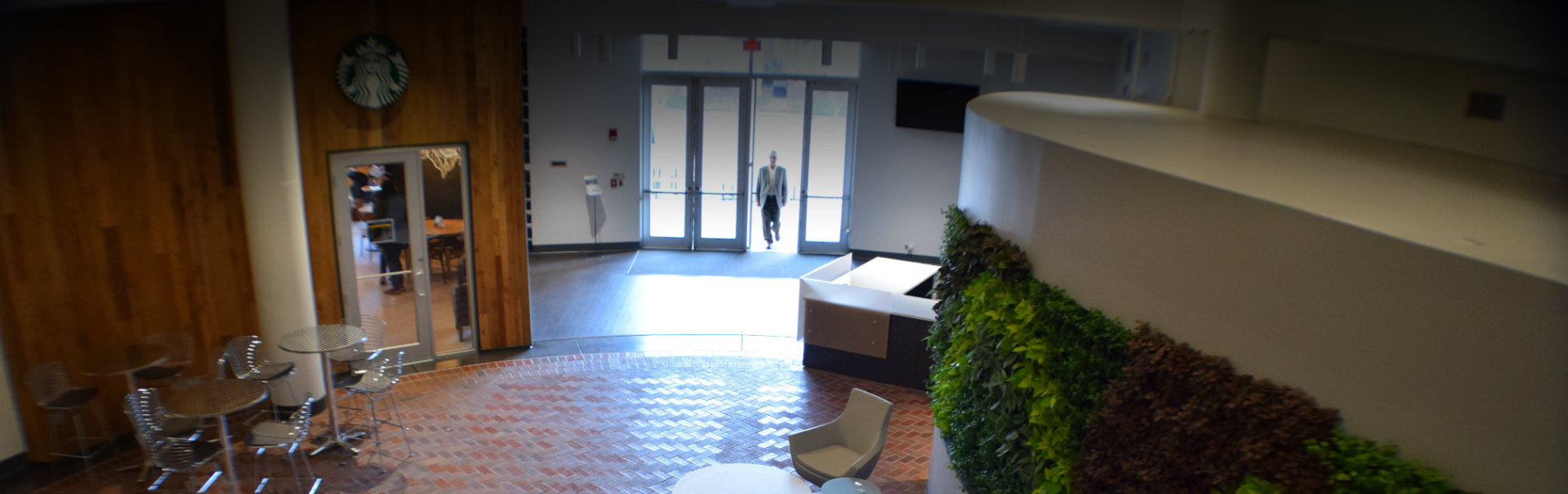 Interior Lobby Entrance of TCC Center for Innovation