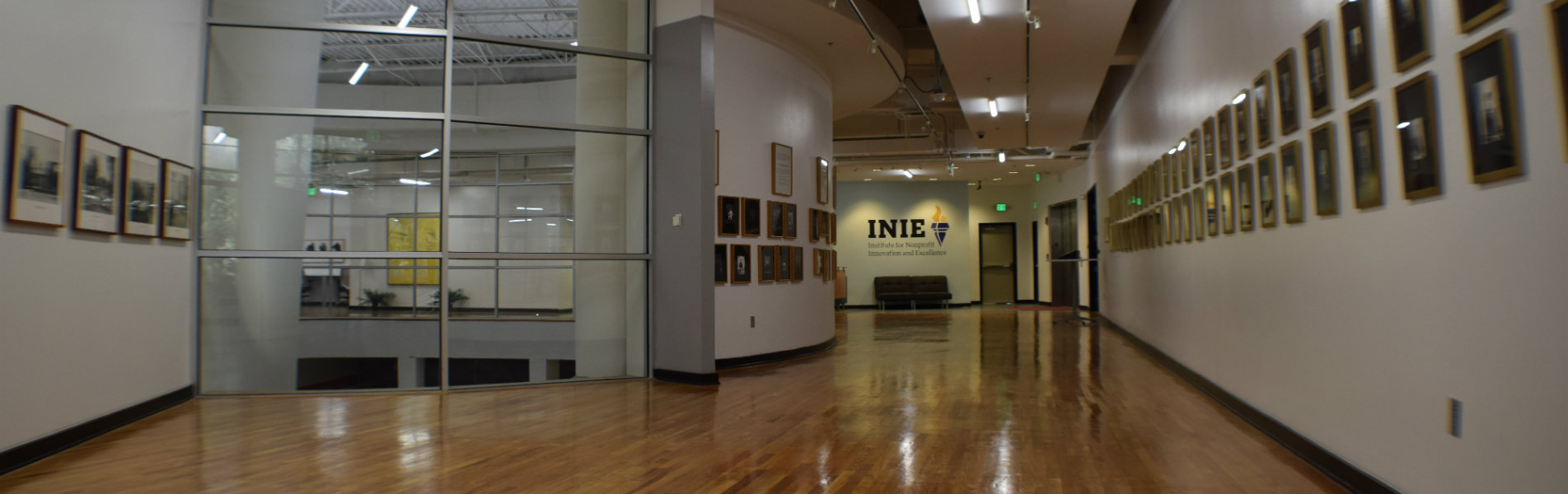 Third floor of the TCC Center for Innovation, home of the Institute for Nonprofit Innovation and Excellence