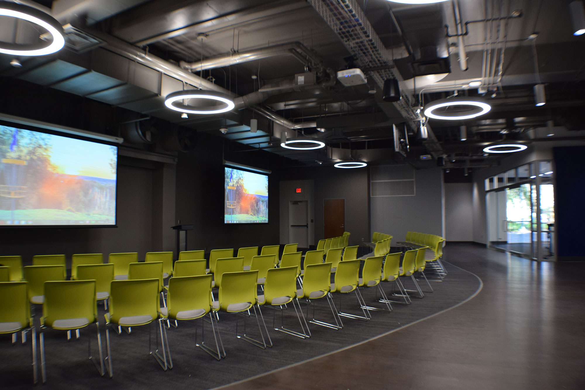 Plaza level conference space at TCC Center for Innovation