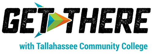 Get There with Tallahassee Community College (logo)